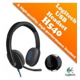 Logitech H540 Wired Headset with Mic USB 981-000510