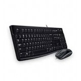 Logitech Black MK120 USB Wired Slim Desktop Combo, Model 920-002565 - Retail