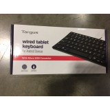 Targus Wired Tablet Keyboard micro USB